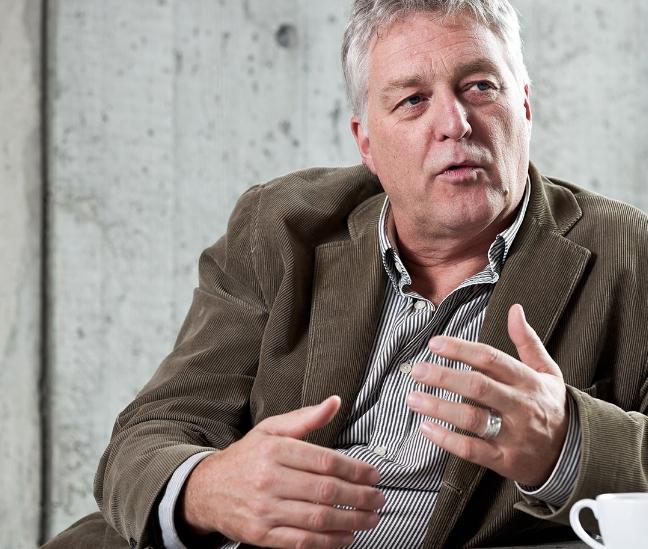 Gerben van Straaten talking about sustainable urban development